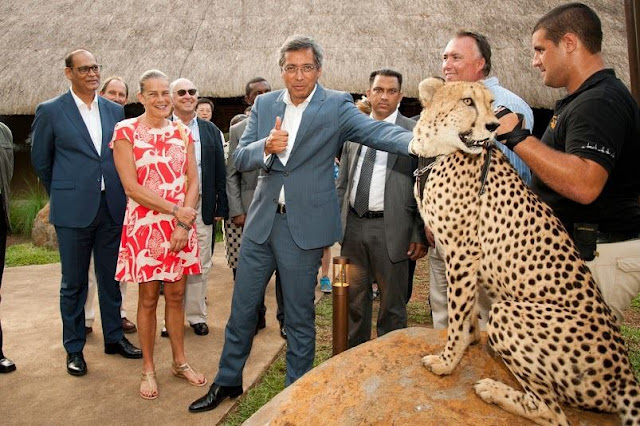 The animal park Casela World of Adventures located in the West of Mauritius was officially opened late last week attended by Princess Stephanie of Monaco