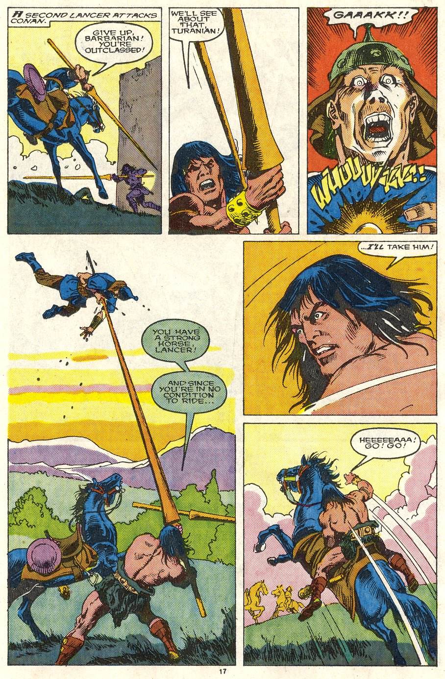 Conan the Barbarian (1970) Issue #219 #231 - English 14