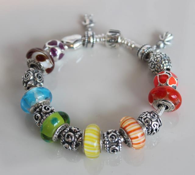 fashionably brokeass pandora charm bracelet