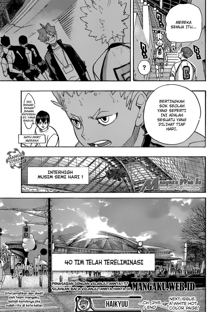 Haikyuu!! Chapter 245-18