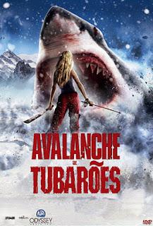 Avalanche de Tubarões - BDRip Dublado