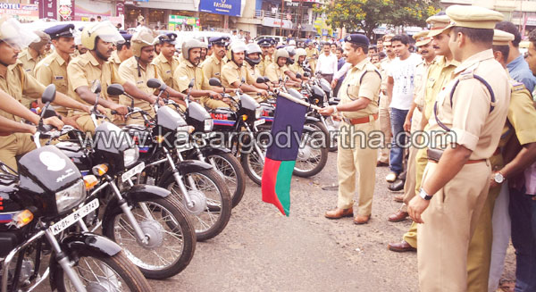 Police Special Package Vehicle, S.P. S. Surendran, Flag off