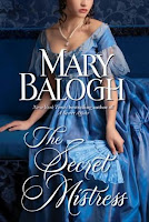 Book cover of The Secret Mistress by Mary Balogh (Mistress trilogy #3)