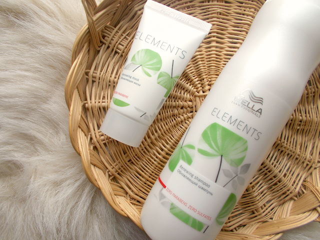 Review of the Wella Elements Renewing Shampoo & Hair Mask from Regis Salons.