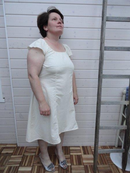 Carmenkleid schnittmuster