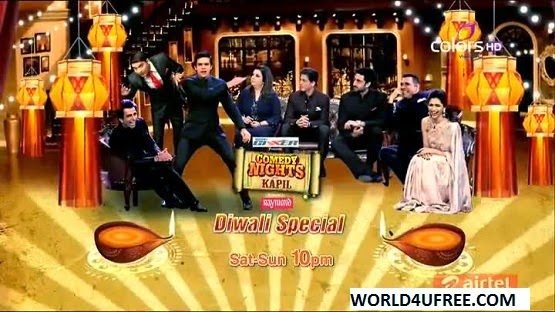 Comedy Nights With Kapil [HAPPY NEW YEAR TEAM] 19th OCT 2014 WEBHD 480p 300mb