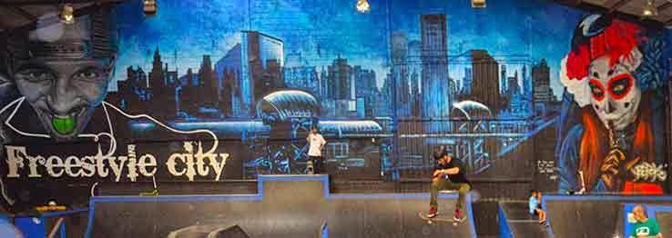 Graffiti Gotham city