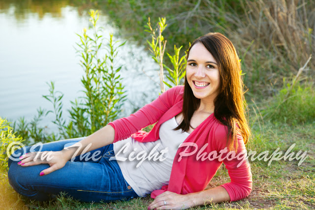 senior portraits Gilbert Arizona Riparian Preserve