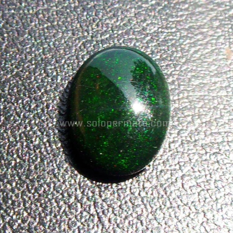 Batu Permata Green Opal kalimaya - SP691
