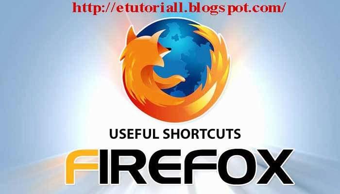 Tombol Shortcut Pada Mozilla Firefox