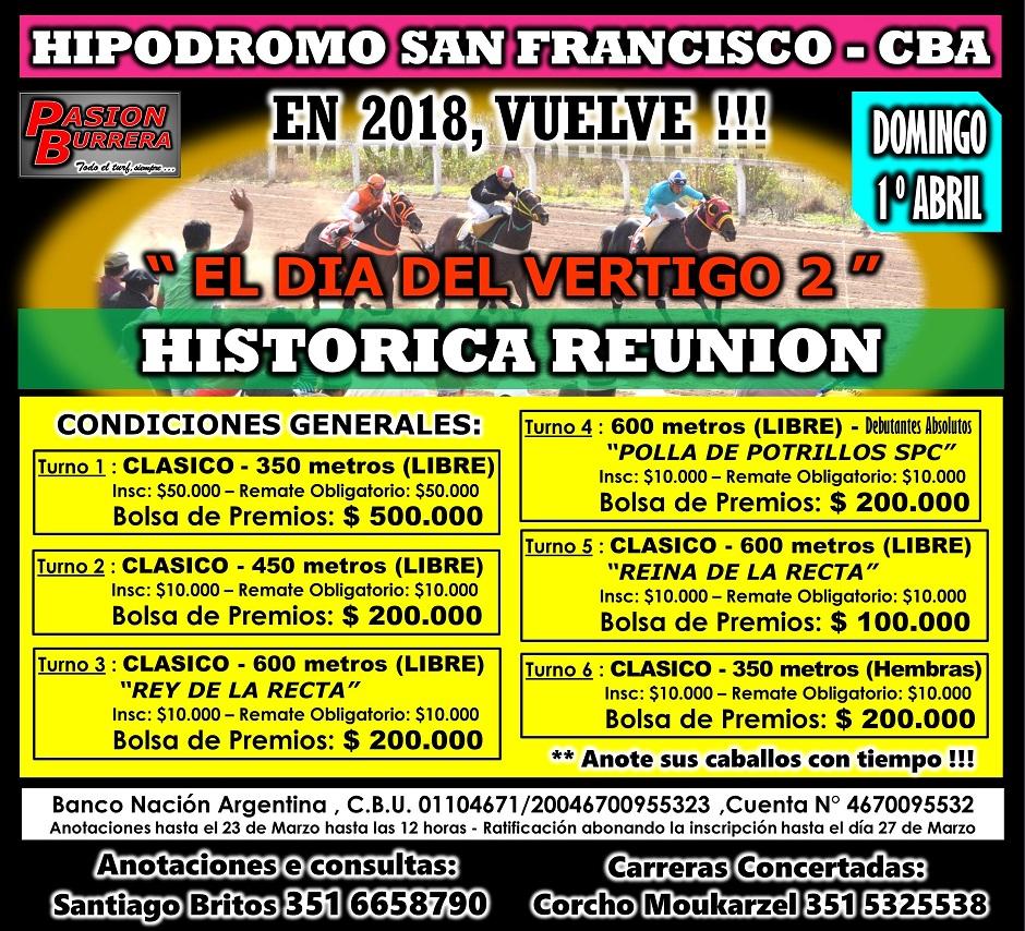 SAN FRANCISCO - EL DIA DEL VERTIGO 2
