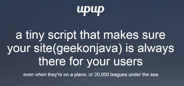 upup javascript framework, javascript framework, offline script, tiny script