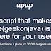 Run website on Offline mode Using UpUp Javascript Framework