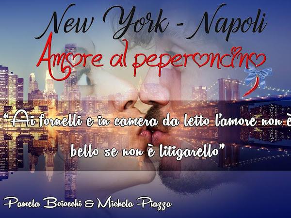 #Intervista a Michela Piazza e Pamela Boiocchi autrici di New York -Napoli amore al peperoncino