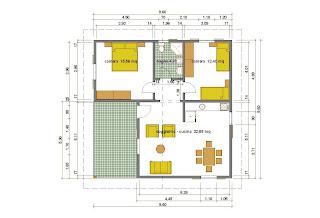 Progetti di case for Progetti contemporanei di case a pianta aperta