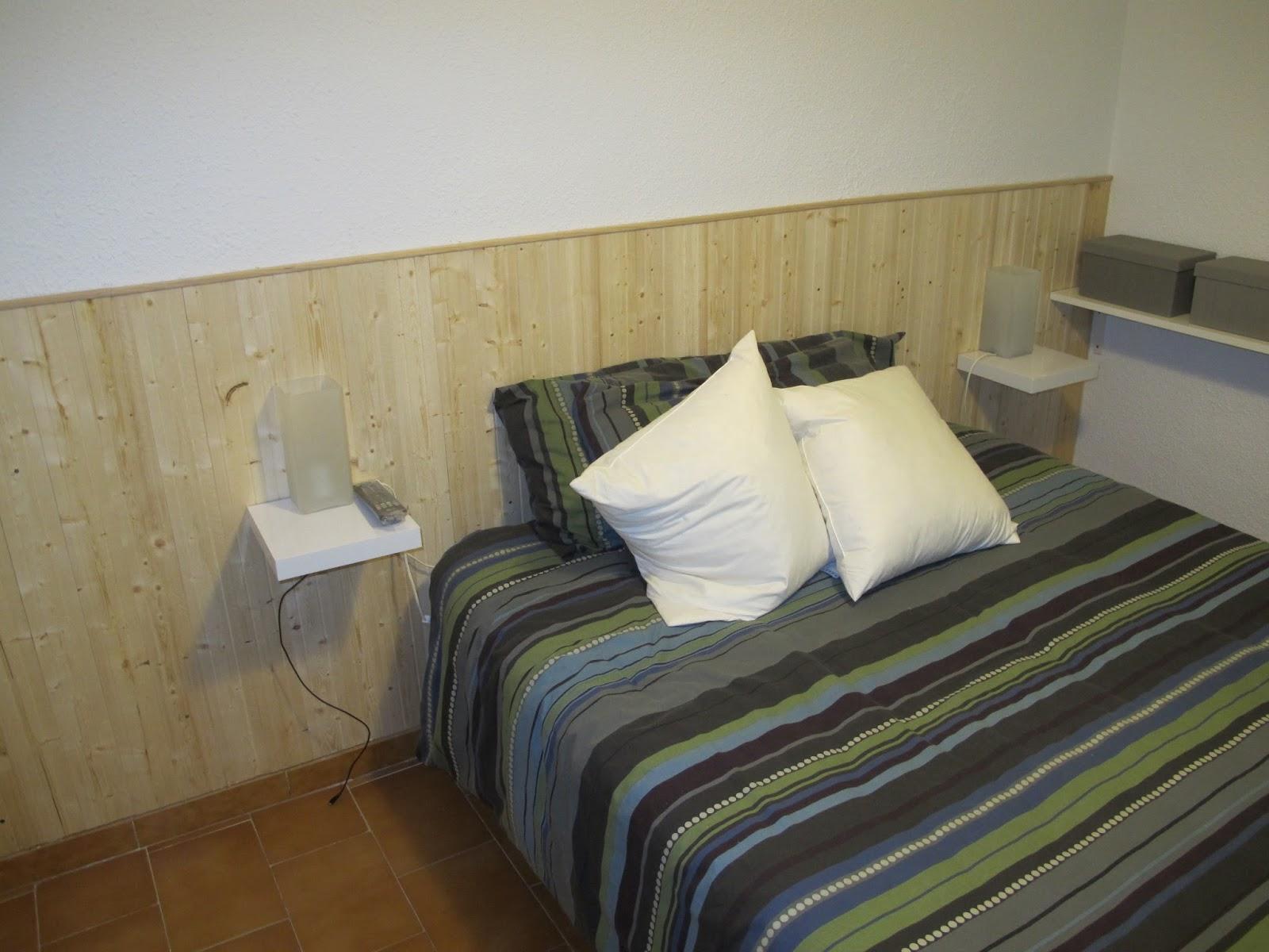 Bricomonxo cabecero de madera para dormitorio - Cabecero con laminas de madera ...