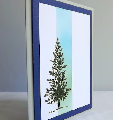 Stampin Up! Lovely as a tree