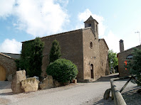 Façanes de ponent i de migdia de l'església de Sant Salvador