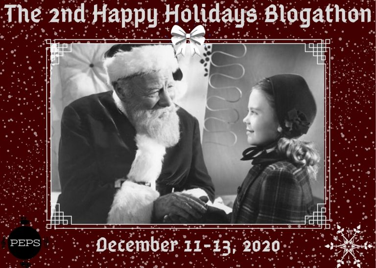 The Second Happy Holidays Blogathon!