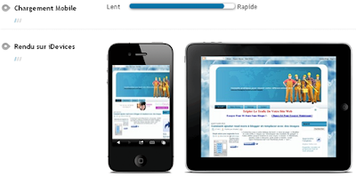 Lire Blogger dans téléphone mobile