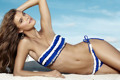 Nina Agdal Penti sexy bikini photoshoot
