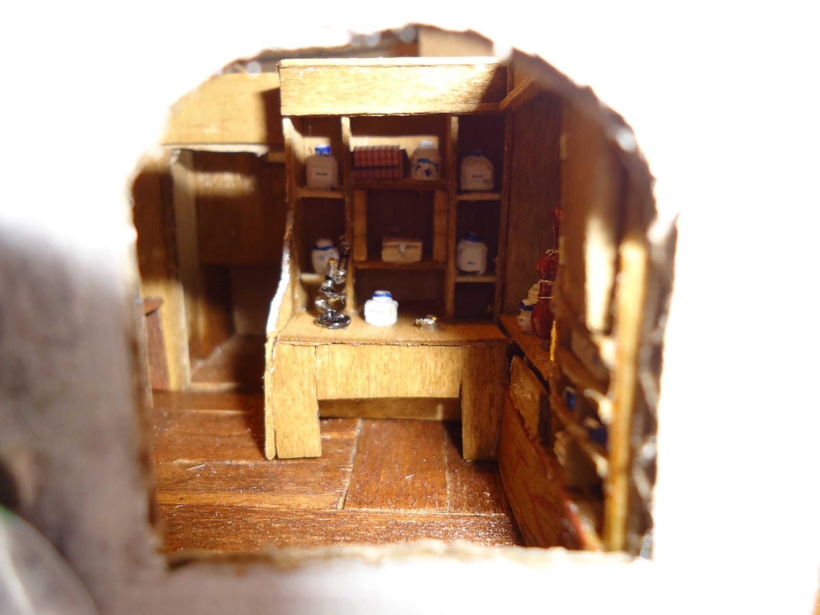 Maisons miniatures et autres bidouillages for Pharmacie de la claire