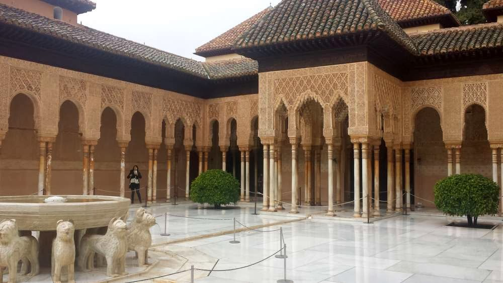 Focus on Life: Macro ~ Alhambra, Spain, Moorish Castle, Court of the Lions and the Fabulous Fountain :: All Pretty Things