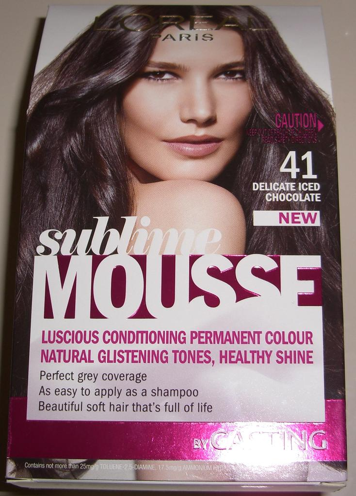 Blushed Wombat Loreal Sublime Mousse Luscious Conditioning