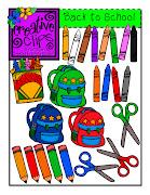Newbie Blog Hop and Back to School Clip Art Snatch