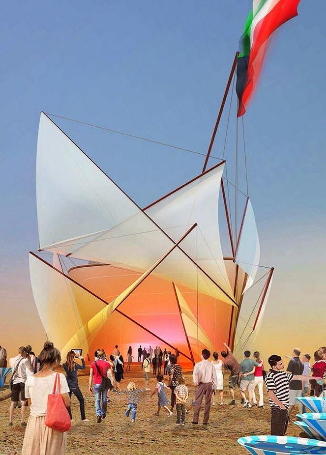 Pavillon du Koweit - Expo 2015 Milano