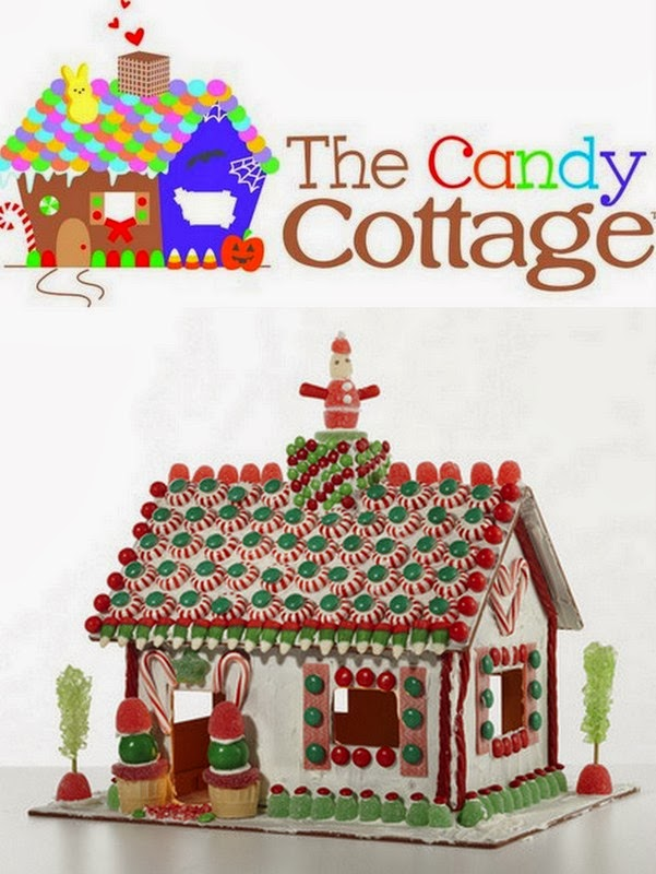 Win No-Bake Gingerbread Houses From The Candy Cottage