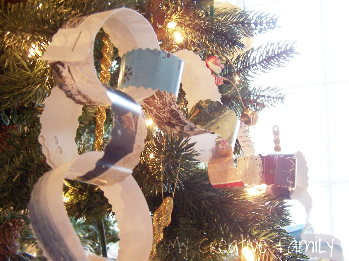 Recycled Paper Chains - Creative Family Fun