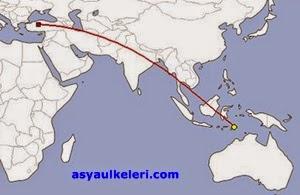 Doğu Timora Uçakla Gitmek Kaç Saat