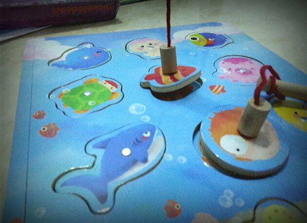 Kids 39 stuff childhood joys fun fishing game for toddlers for Fishing stuff for kids