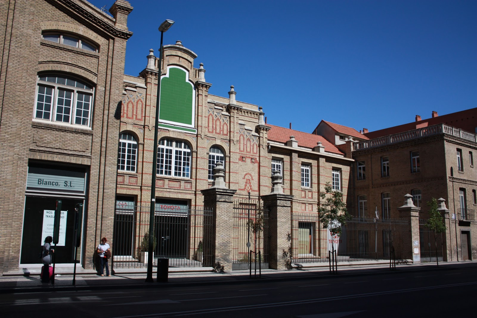 Patrimonio industrial arquitect nico ruta modernismo al for Oficina turismo tarazona