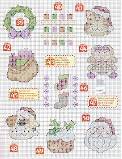 50 mini gráficos de Natal - parte 2.