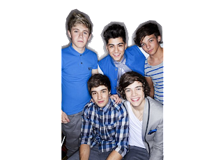 54 PNG's da banda One Direction