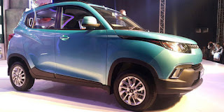 Mahindra KUV100 Small Crossover Began To Be Marketed