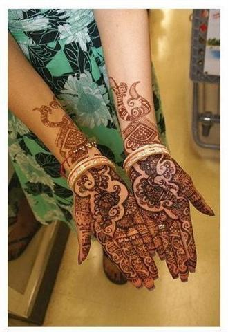 arabic mehndi patterns