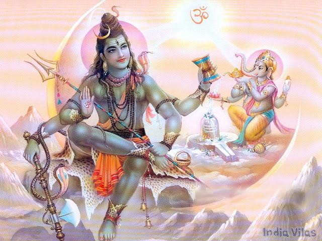 Lord Shiva & Lord Ganesh 2