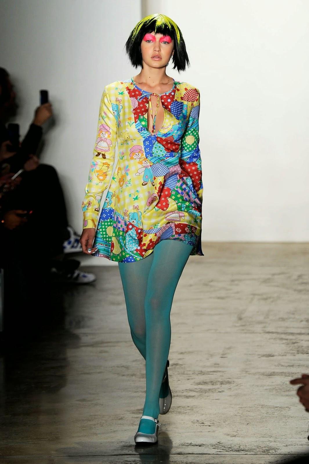 Gigi Hadid – Jeremy Scott Fashion Show in NYC