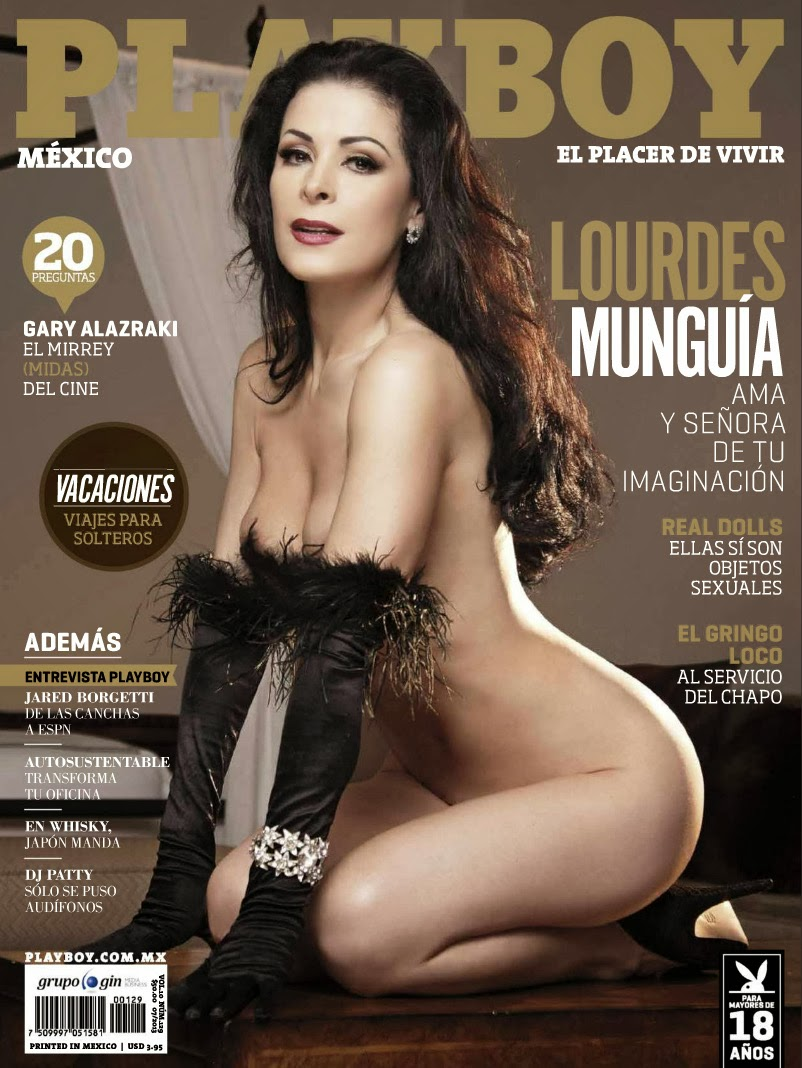 Lourdes Munguia en play Boy 2013