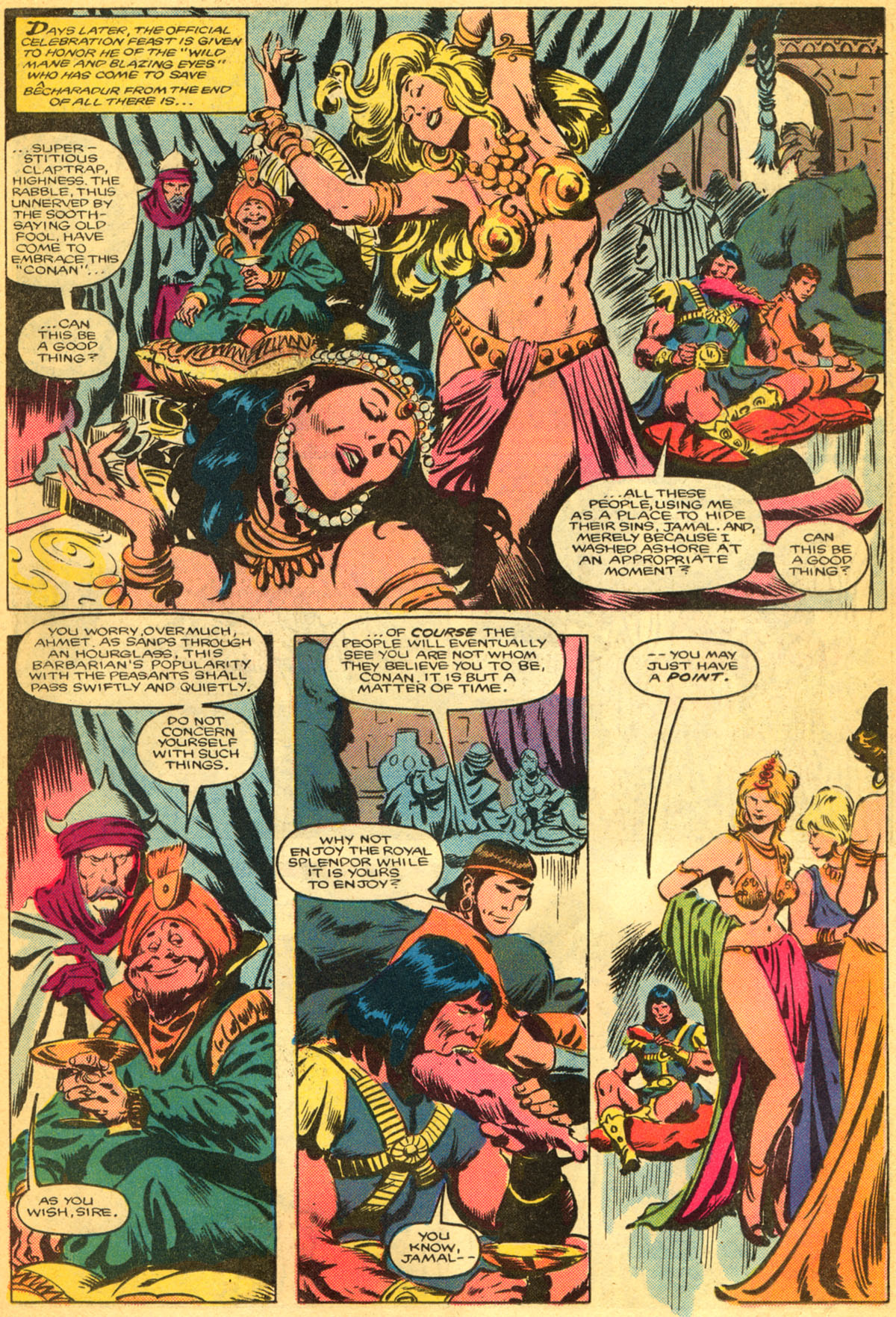Conan the Barbarian (1970) Issue #179 #191 - English 14