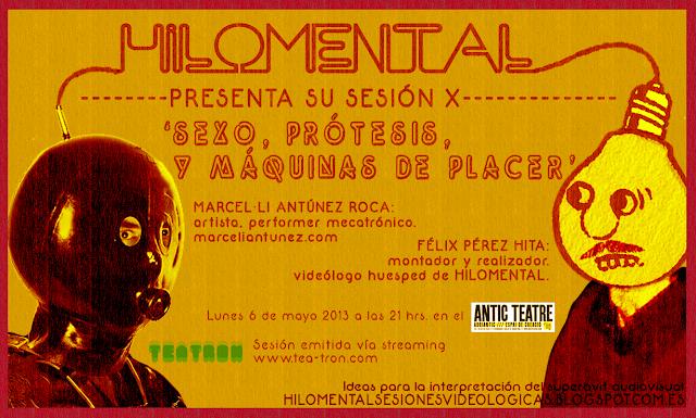 Cartel de HILOMENTAL Sesión X