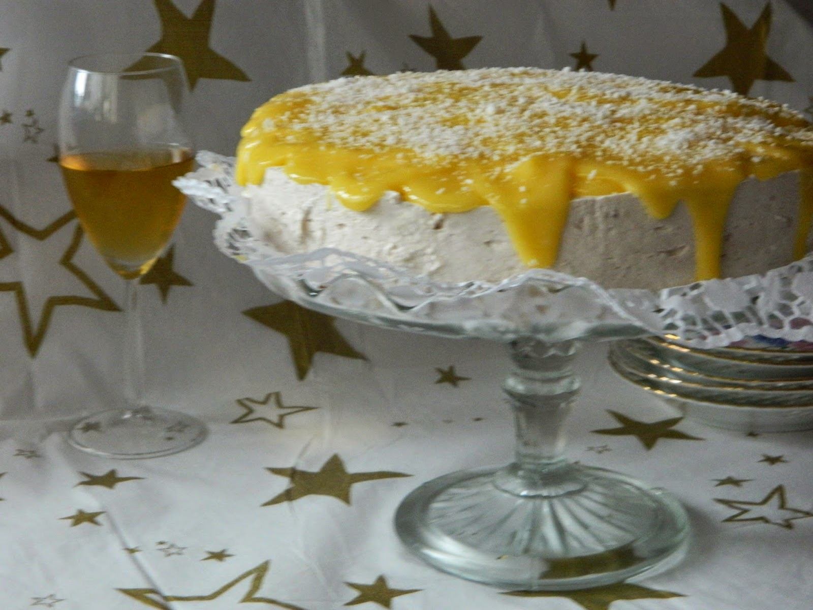 Tort cu ananas si mango