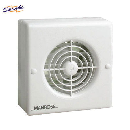 4 Inch Manrose Extractor Fan with Timer