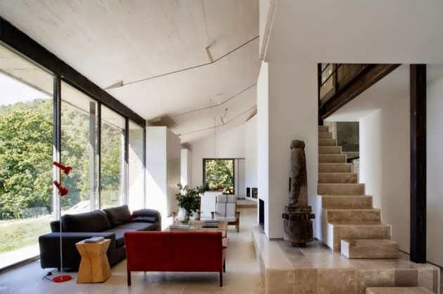 ... Contemporary Stone House Design In Countryside Of Extremadura Spain ...