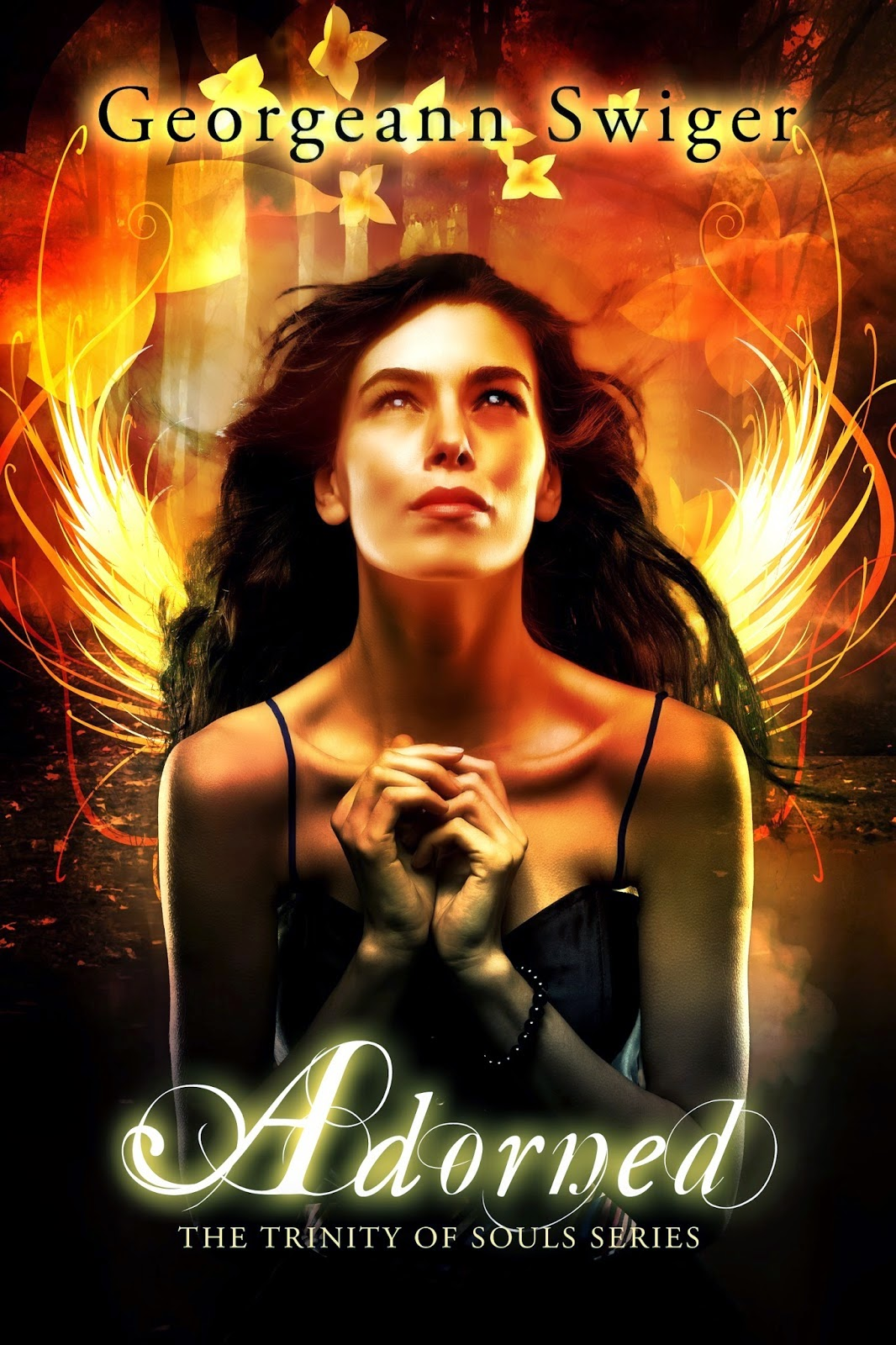 Series: Trinity Of Souls #1 Author: Georgeann Swiger Genre: Fantasy,  Paranormal, Romance, Age Range: Young Adult Publisher: Georgeann Swiger