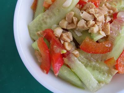 Azjatycka sałatka z ogórka