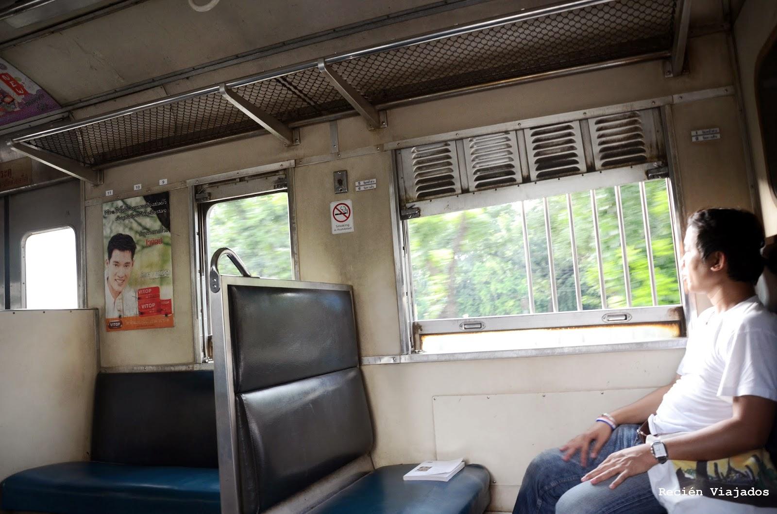 Tren a Bangkok